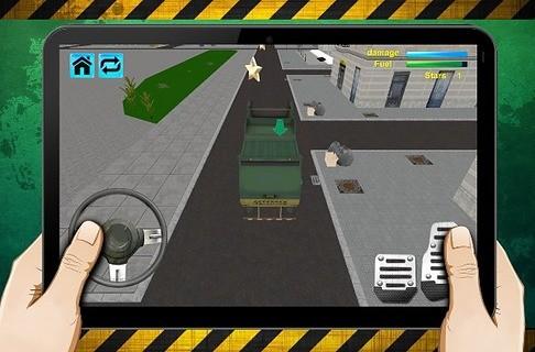 玩免費休閒APP|下載Garbage Truck Simulator app不用錢|硬是要APP