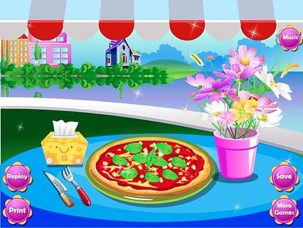 玉米比萨烹饪游戏
