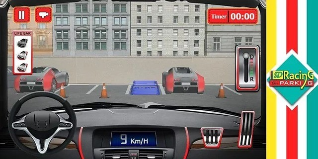 3D 赛车停车场