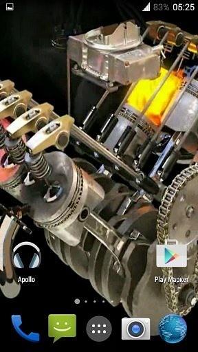 Engine 3D. Video Wallpaper