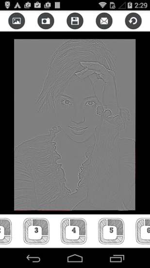 Photo Effects: Pencil Sketch