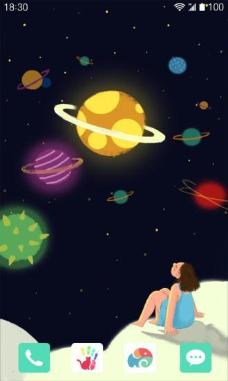 小星球梦象动态壁纸