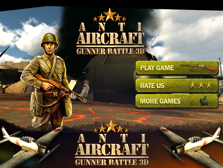 Anti Aircraft Gunner Battle 3D