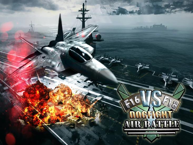 F16 vs F18 Dogfight Air Battle
