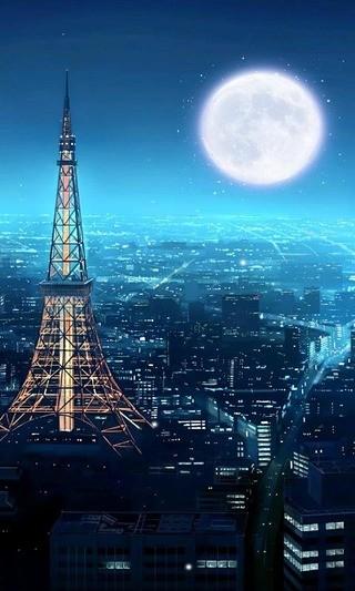 都市夜景-绿豆动态壁纸