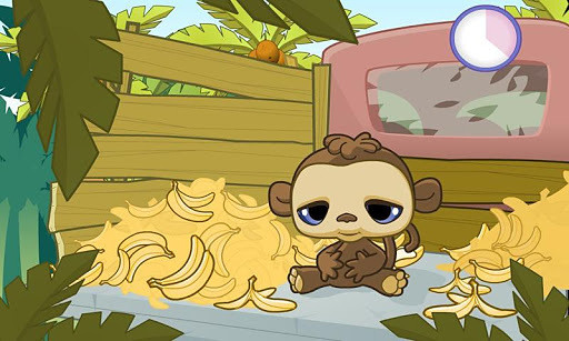 可爱的猴子 Banana Belly - Cute Monkey