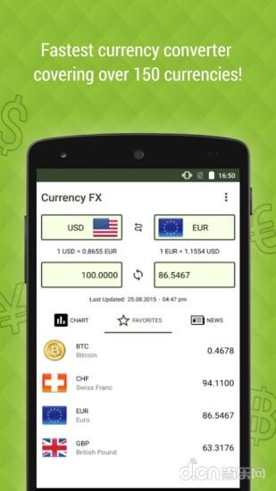 外币兑换 Currency FX
