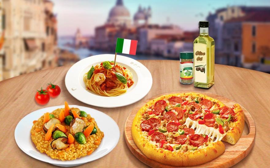 烹饪游戏做意大利食物