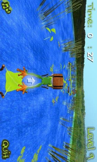 青蛙公主跳跃