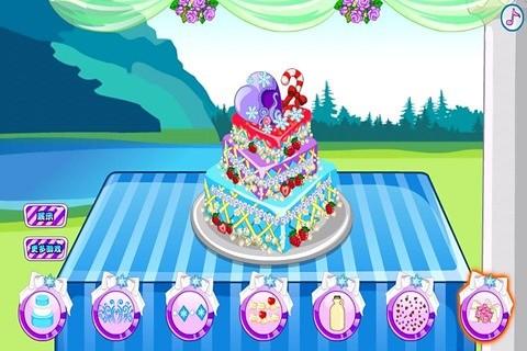 安娜公主婚礼蛋糕
