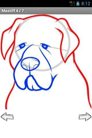 如何绘制:狗和小狗