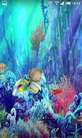玩個人化App|手机养鱼动态壁纸免費|APP試玩
