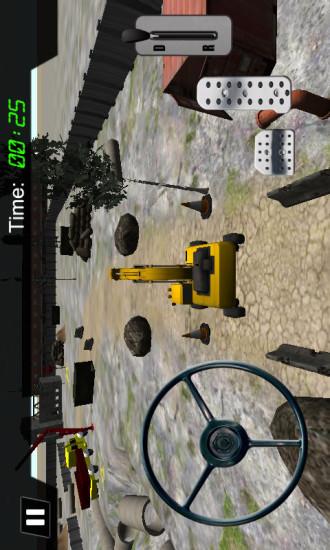 挖掘机施工模拟2
