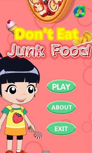 别吃垃圾食品