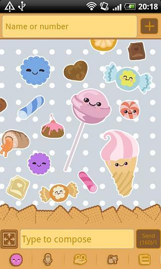 GO短信糖果主题