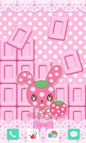 草莓巧克力梦象动态壁纸