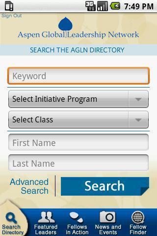 The Aspen Institute: AGLN
