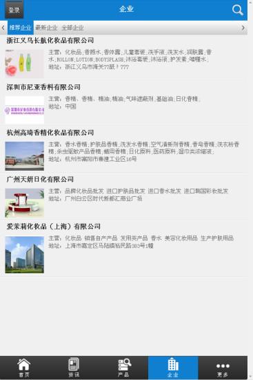 中国香水行业门户