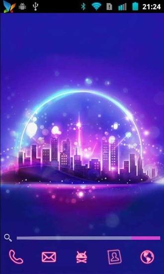 浪漫都市-主题桌面|玩工具App免費|玩APPs