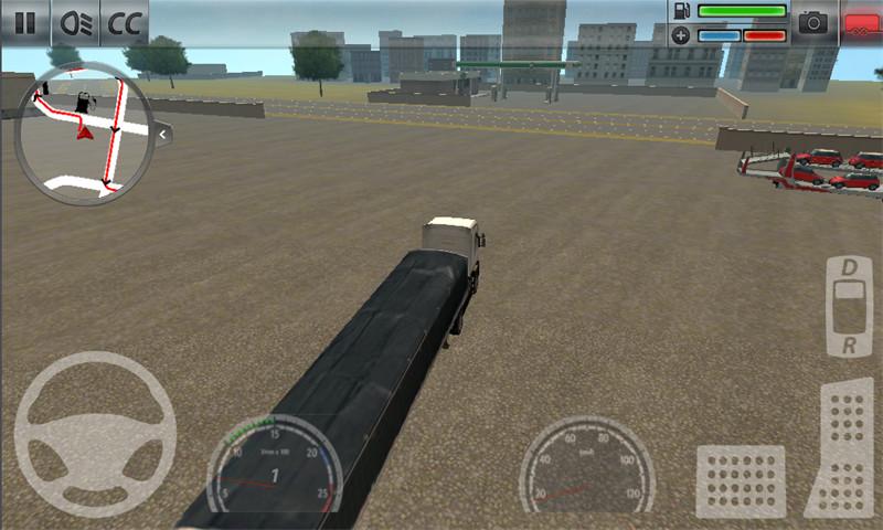 3D越野卡车司机