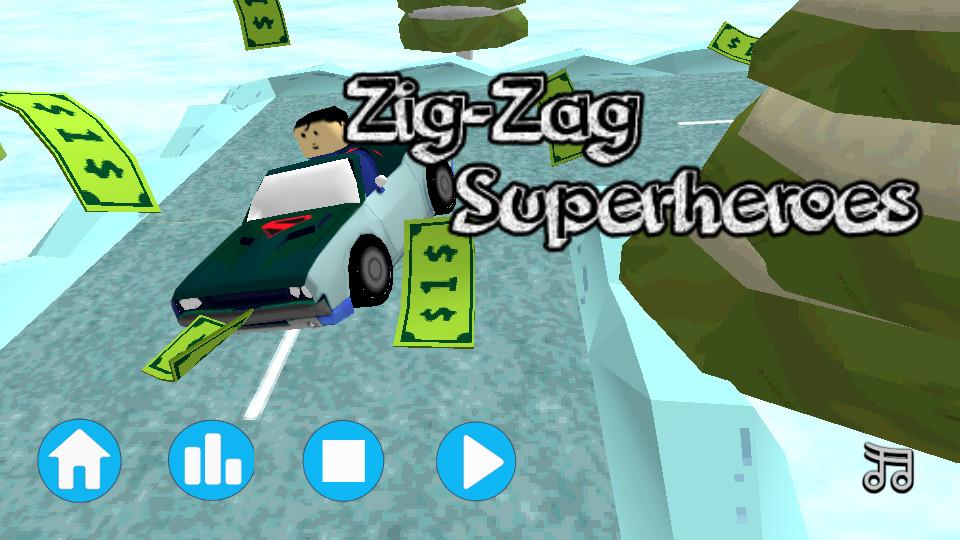 超级英雄3D竞赛
