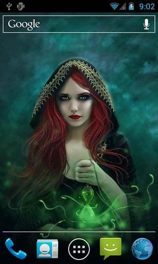 森林女巫-动态壁纸
