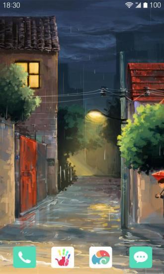 雨夜约会梦象动态壁纸