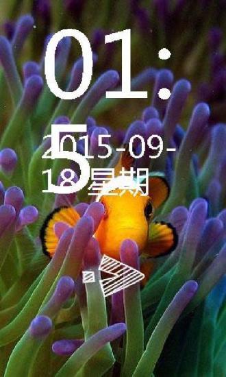 深海小丑鱼养眼锁屏