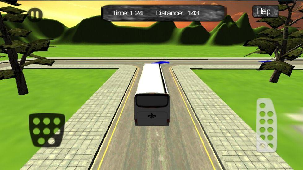 城市巴士驾驶司机3D