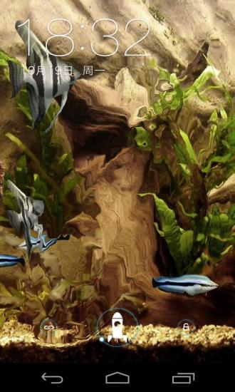3D清新水族馆动态壁纸