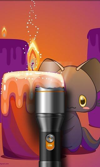 可爱小熊手电筒