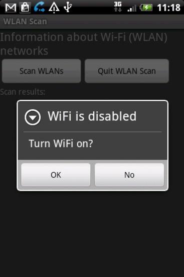 WLAN扫描