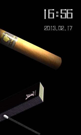 一支烟-FUN主题锁屏