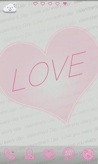 GO桌面主题-我们的爱