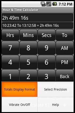 Hours Calculator