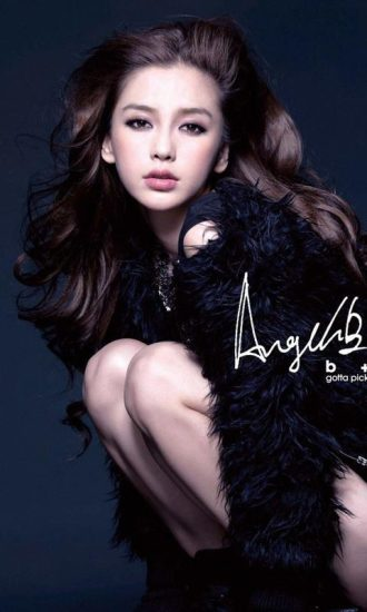 Angelababy-主题解锁屏