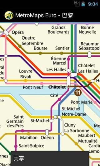 多欧洲地铁地图|玩交通運輸App免費|玩APPs