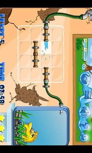 小金鱼爱洗澡
