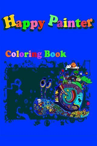 Happy Painter - Coloring Book