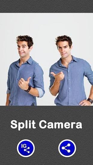 分裂照相机