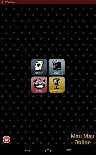 Mau Mau Online card game