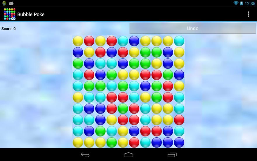 玩免費益智APP|下載Bubble Poke app不用錢|硬是要APP