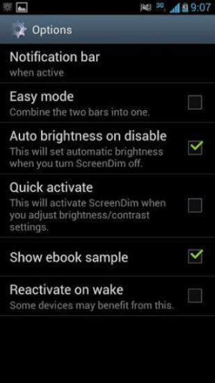 透明度亮度比度调节 ScreenDim