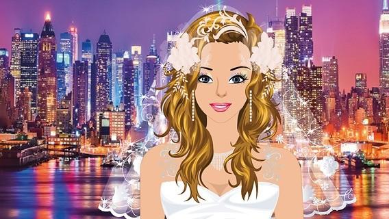 纽约新娘妆
