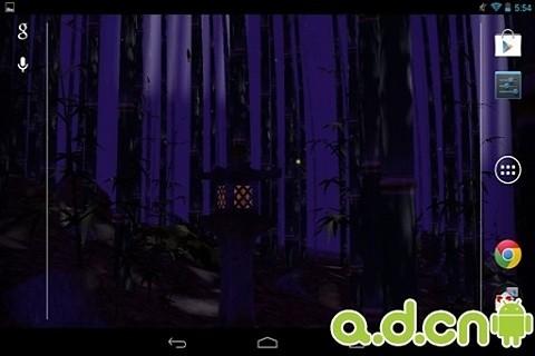 3D竹林动态壁纸
