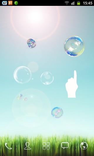 Galaxy S4天空泡沫壁纸