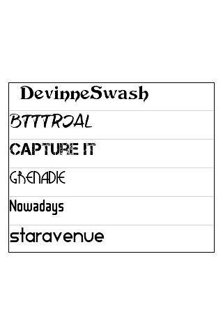 玩工具App|ReChat Font Pack 5免費|APP試玩