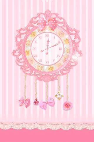 公主时钟动态壁纸