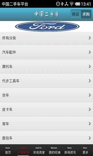中国二手车平台