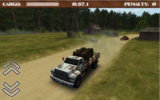 3D土路货车